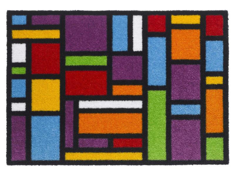 Elegance paillasson carrés 50x70 cm