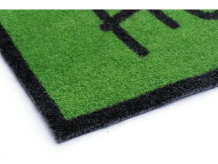 Elegance paillasson welcome 50x70 cm vert