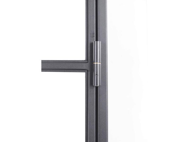 Solid Elegance porte intérieure en acier droite 6 vitrages 211x83 cm