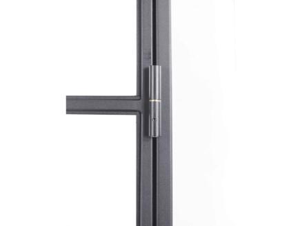Solid Elegance stalen binnendeur links 8 ruiten 201x83 cm