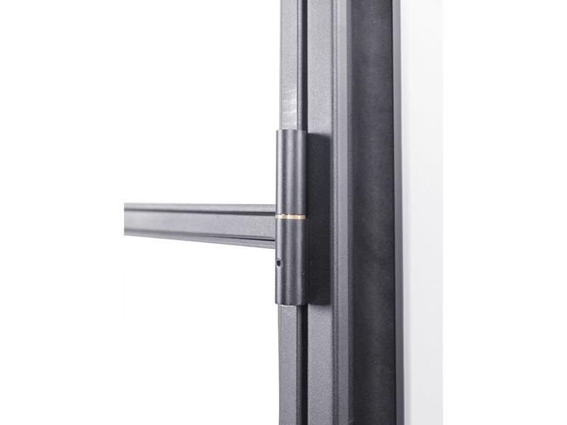 Solid Elegance stalen binnendeur rechts 8 ruiten 201x83 cm