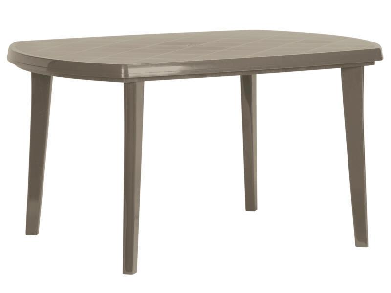 Jardin Elise table de jardin 135x90 cm cappuccino