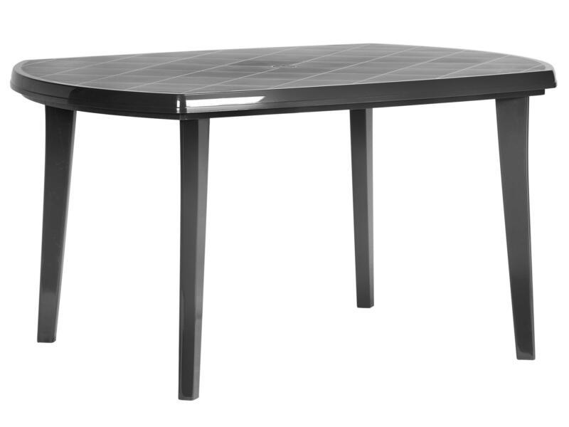 Jardin Elise table de jardin 135x90 cm graphite