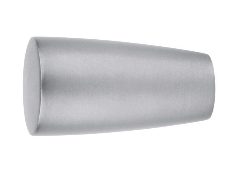 Embout conique pour tringle à rideau 20mm inox 1 pièce