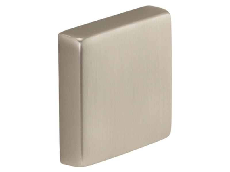 CanDo Embout pour rampe d'escalier carrée aspect inox 2 pièces
