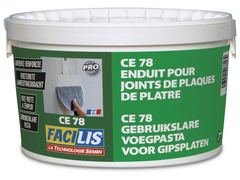 Semin Enduit pour joints de plaques de plâtre Facilis 7kg