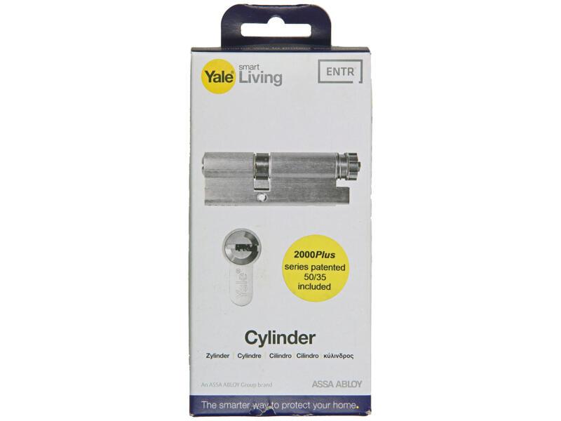 Yale Entr 2000 Plus 50/35 cylindre de porte profilé 35mm
