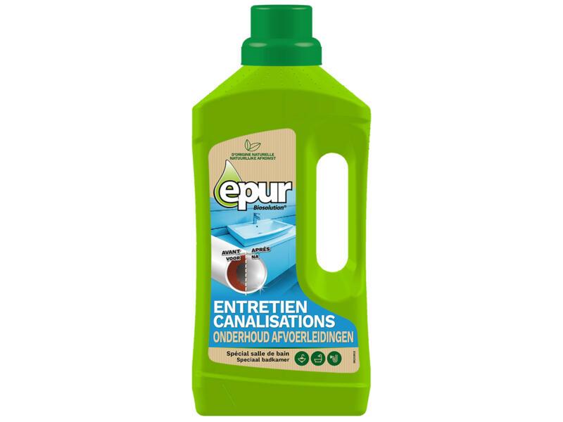 Epur Entretien canalisations salle de bains biologique 1l