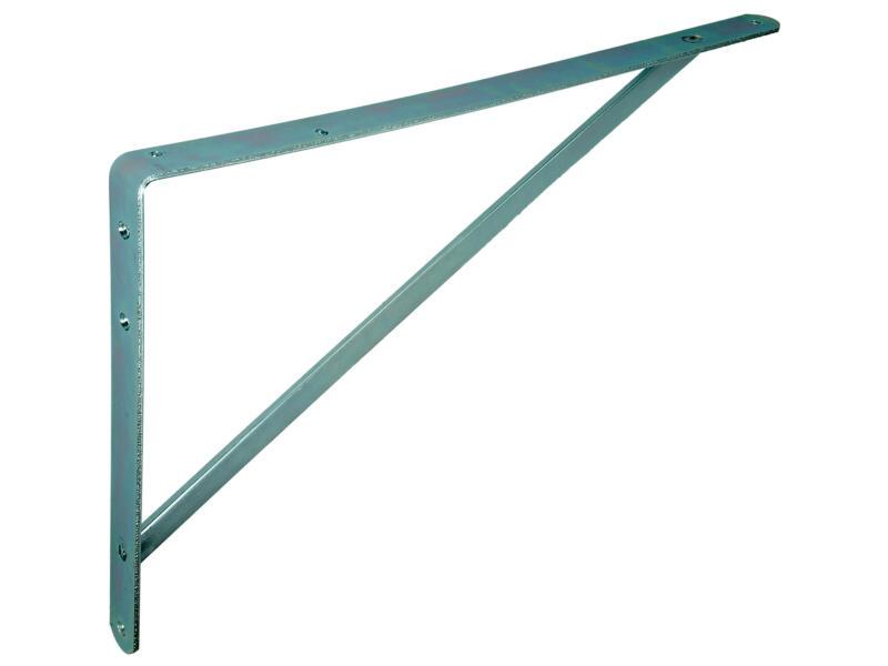 Équerre d'étagère renforcée 330x500 mm galvanisé