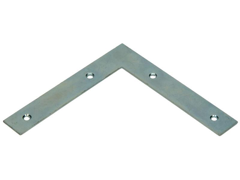 Pgb-fasteners Équerre de fenêtre plate 125x125x20x2 mm 8 pièces