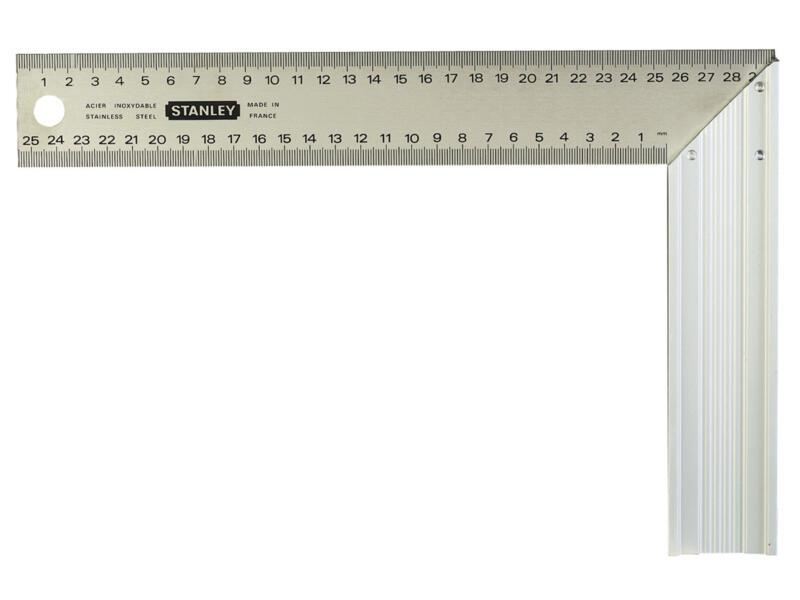 Stanley Équerre de menuisier 25cm aluminium