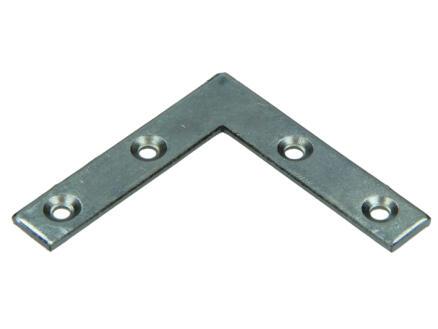 Pgb-fasteners Équerre plate 50x50x10 mm 20 pièces