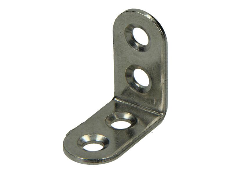 Pgb-fasteners Équerre pliée 30x30 mm 4 pièces