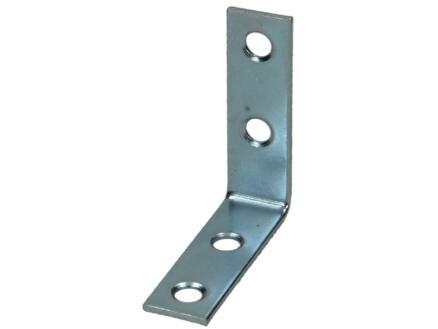 Pgb-fasteners Équerre pliée 50x50x15 mm 20 pièces