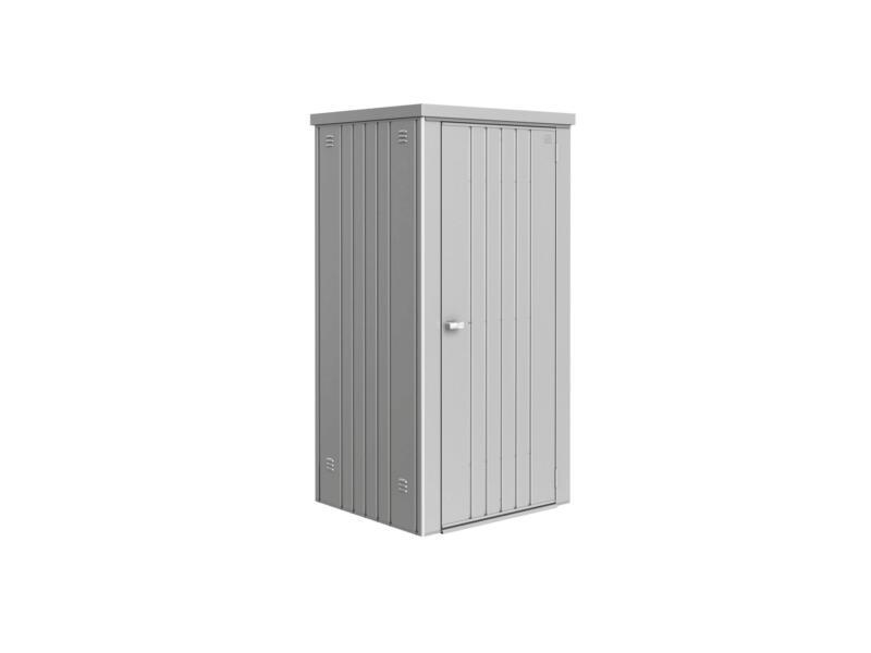 Biohort Equipment Locker 90 armoire de jardin 93x83x182,5 cm argent métallique