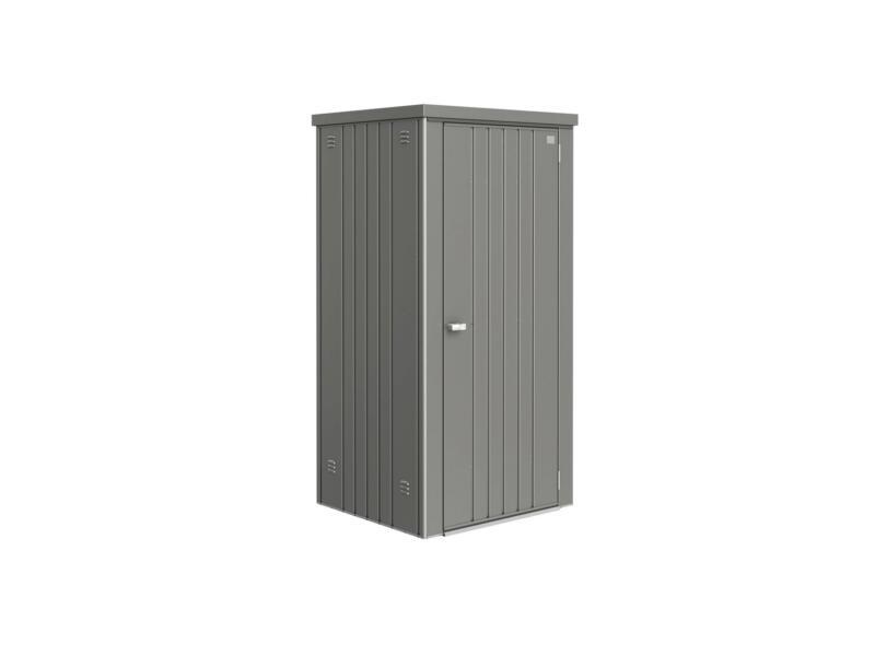 Biohort Equipment Locker 90 tuinkast 93x83x182,5 cm kwartsgrijs metallic
