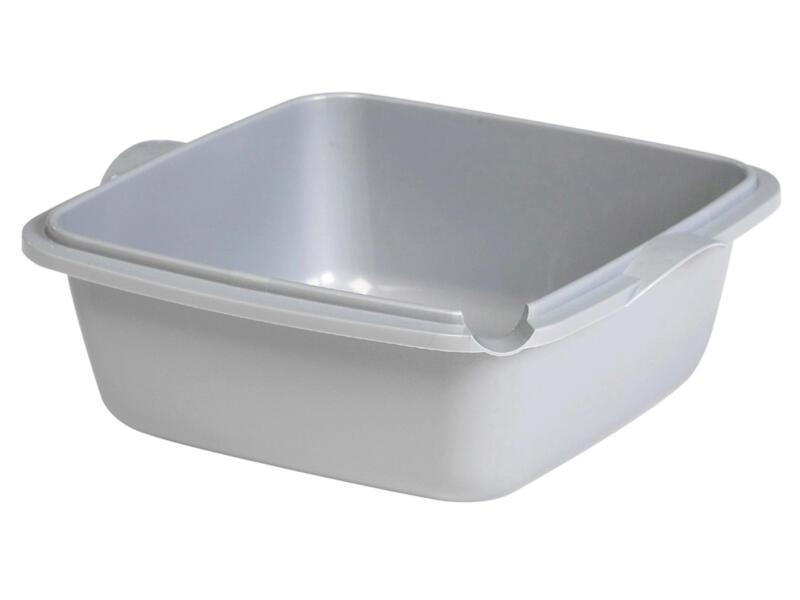 Curver Ergo bassine plastique 10l gris acier