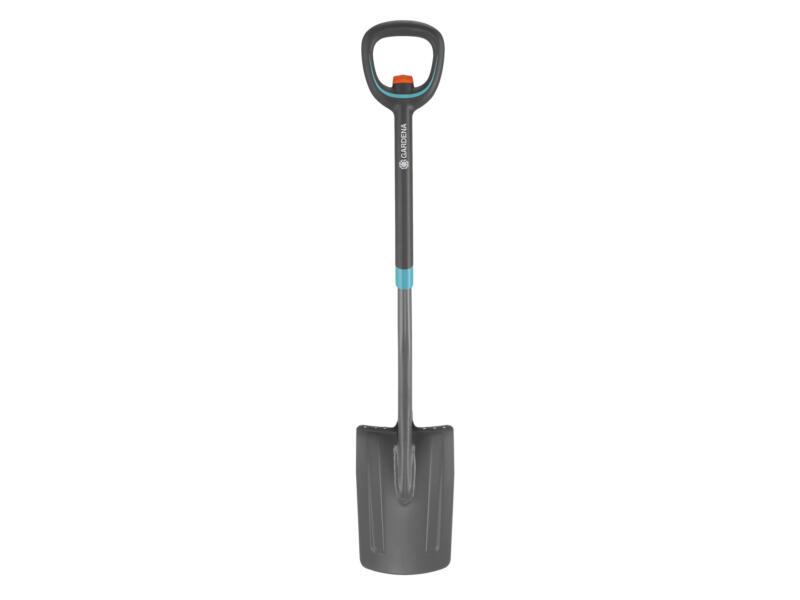 Gardena Ergoline spade + telescopische D-steel