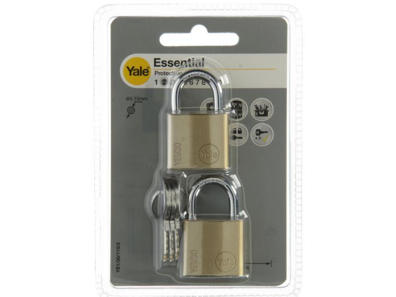 Yale Essential hangslot 30mm 2 stuks