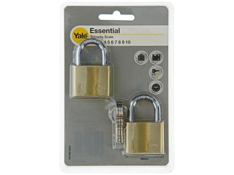 Yale Essential hangslot 40mm 2 stuks