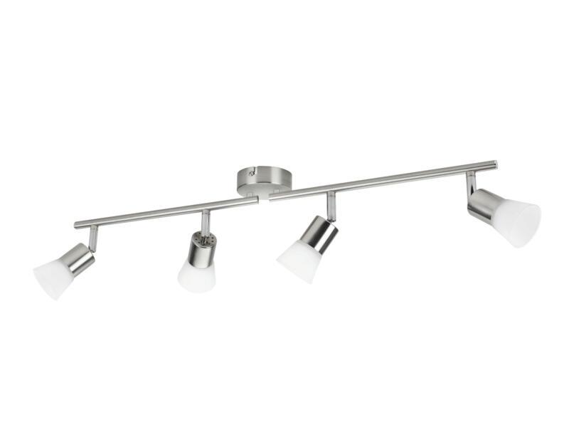 Philips Essentials Decagon LED balkspot 4x4,3W mat chroom