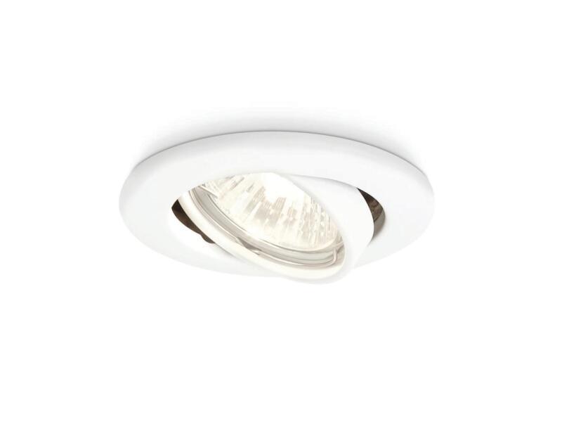 Philips Essentials Enif inbouwspot GU10 max. 50W kantelbaar wit