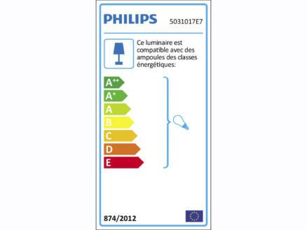 Philips Essentials Meranti spot mural GU10 max. 35W chrome mat