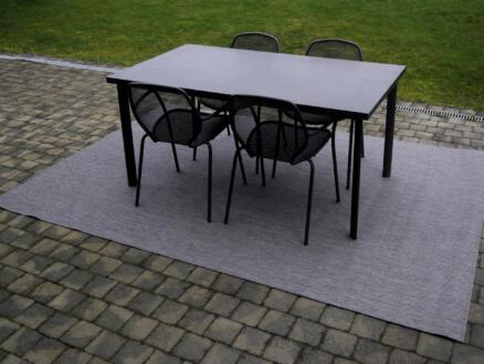 Essenza tapis d'extérieur 200x290 cm gris foncé