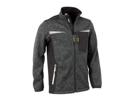 JCB Essington veste jumper avec fermeture à glissière S gris