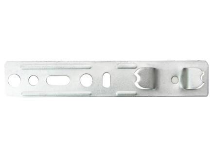 Solid Esterno muurankers inox 6 stuks