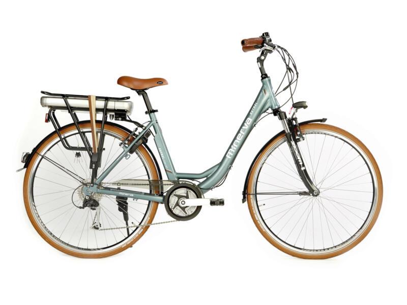 Minerva Estrel elektrische damesfiets middenmotor groen