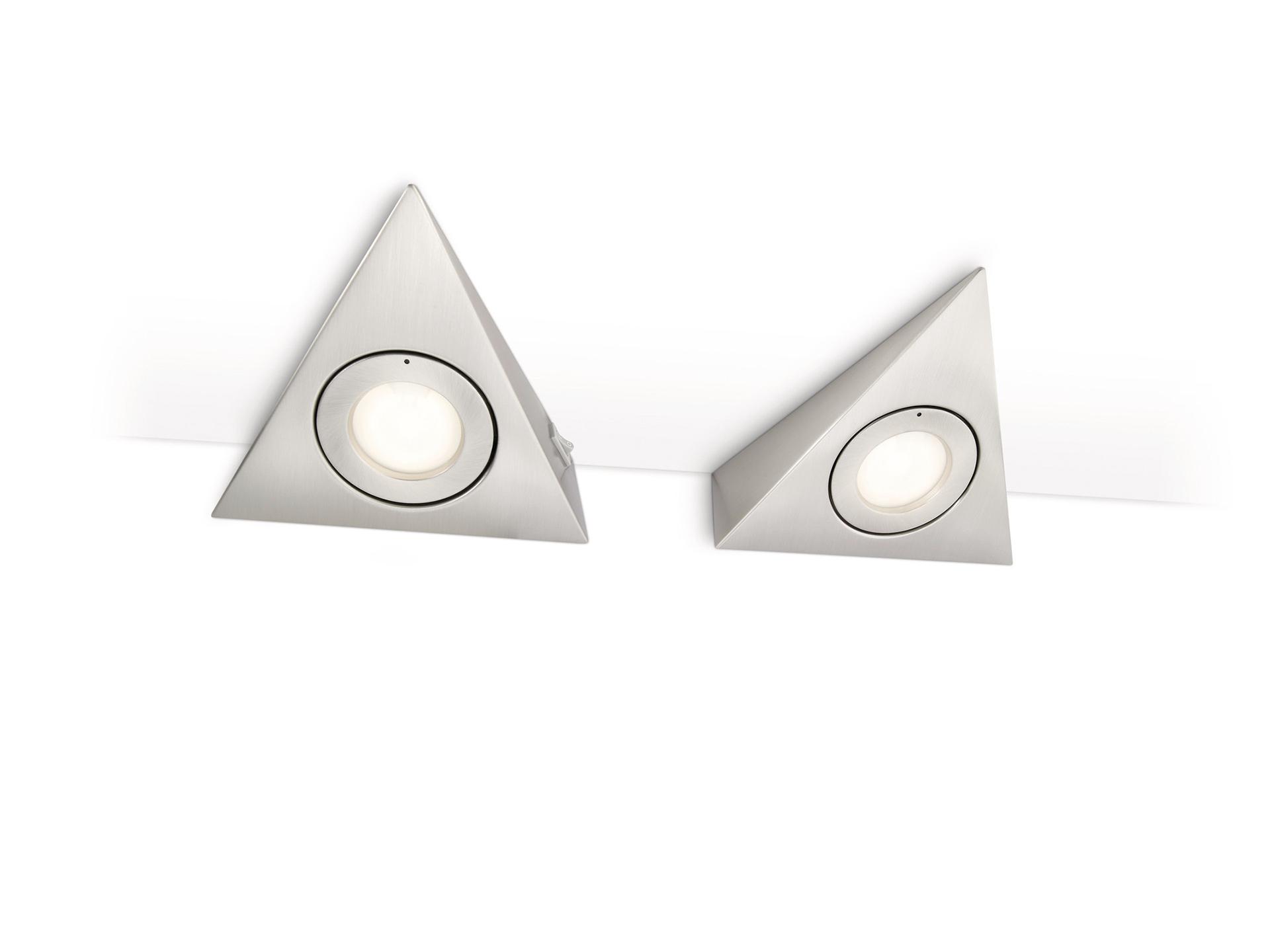 philips etoile keukenkast verlichting g4 2x20w 255lm mat chroom hubo