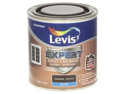 Levis Expert lak buiten zijdeglans 0,25l kastanje