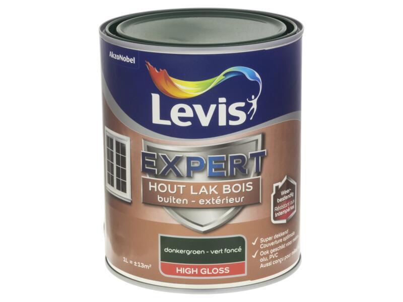 Levis Expert laque extérieur brillant 1l vert foncé