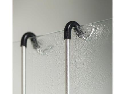 Tiger Exquisit panier de douche à suspendre 26,5cm inox brossé