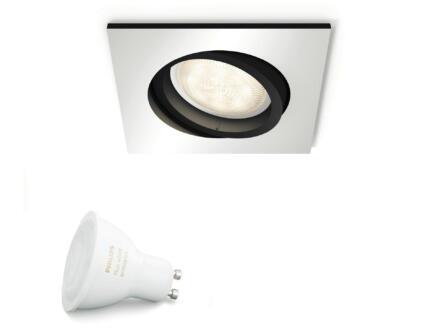 Philips Hue Extra White Ambiance LED inbouwspot GU10 5,5W dimbaar aluminium