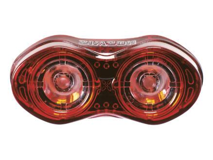 Eyes lampe de vélo arrière LED avec USB 3lm