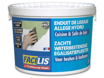 Semin Facilis enduit de lissage pour cuisine et salle de bains hydro 5kg