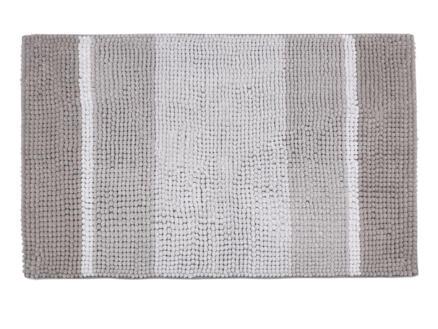 Differnz Fading tapis de bain 90x60 cm taupe