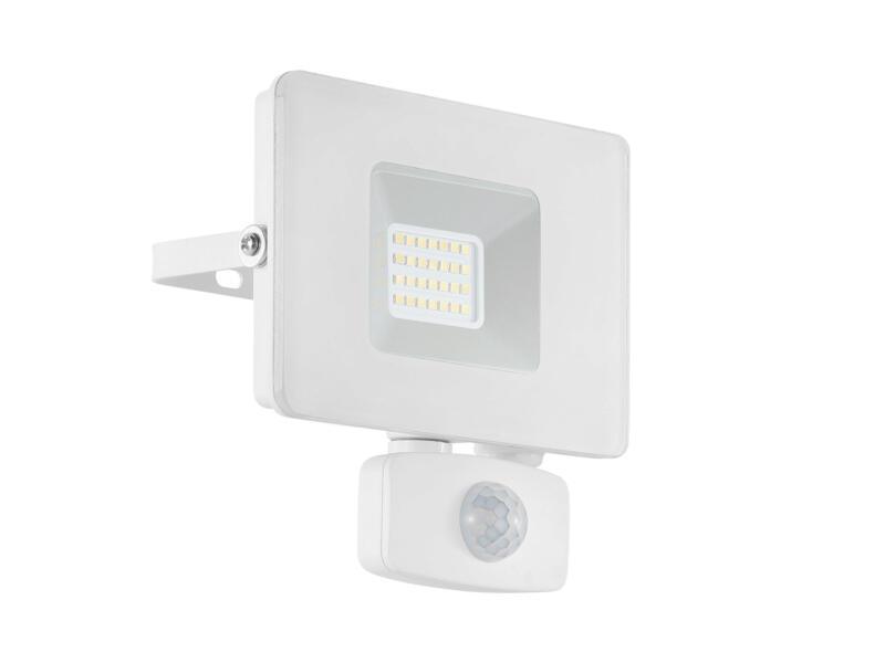 Eglo Faedo LED straler 20W met sensor wit