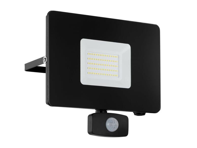 Eglo Faedo3 projecteur LED 50W avec détecteur PIR noir