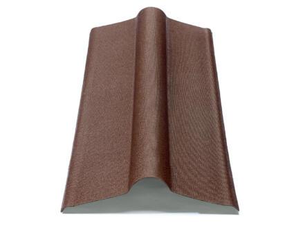 Onduline Faitière 100cm brun
