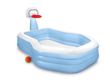 Family Swim Center piscine gonflable 188x257x130 cm avec panier de basket
