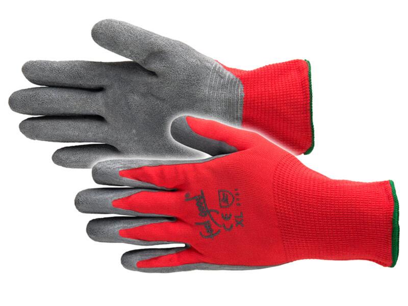 Busters Feel Good gants de travail L nylon rouge