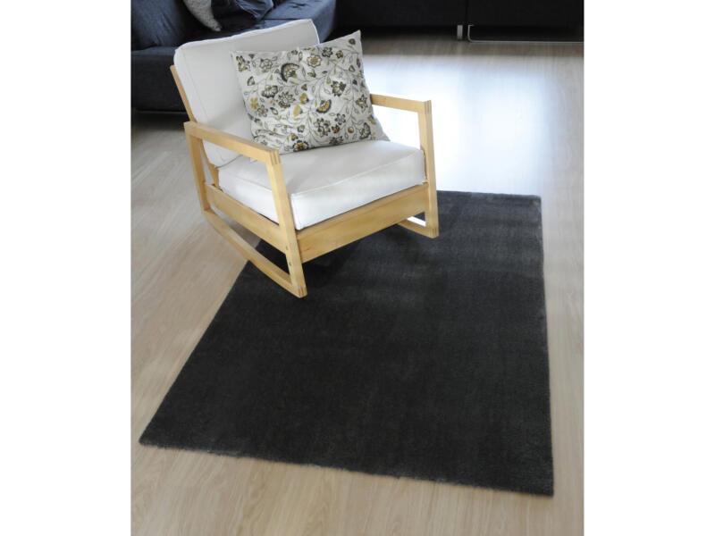Feel tapis 80x150 cm gris foncé