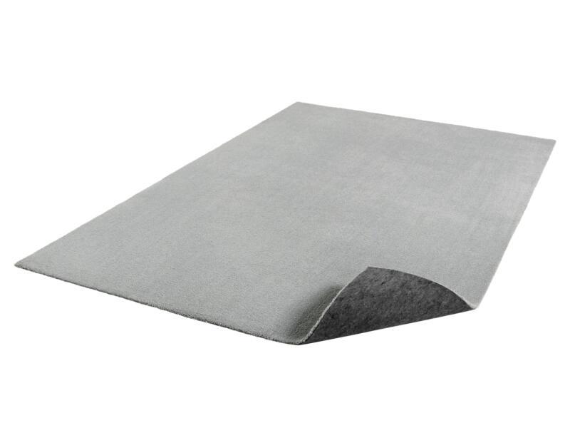 Feel vloerkleed 120x170 cm lichtgrijs