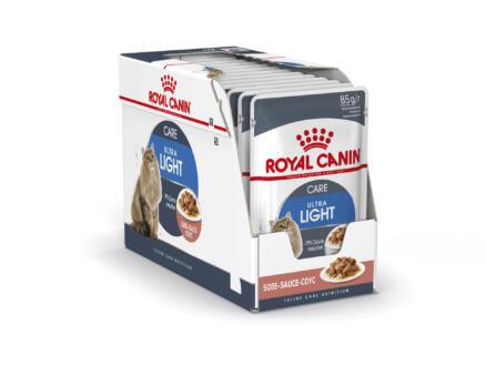 Feline Care Nutrition Ultra Light Care Gravy croquettes chat 12x85 g
