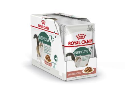 Royal Canin Feline Health Nutrition Instinctive 7+ Gravy kattenvoer 12x85 g