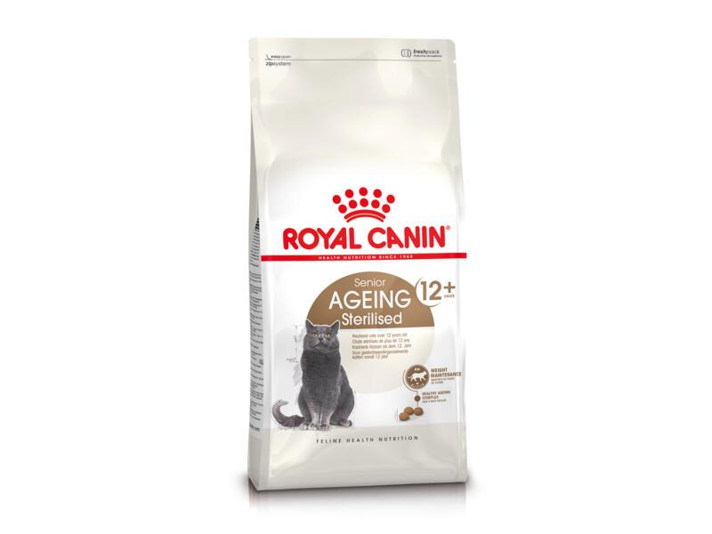 Royal Canin Feline Health Nutrition Sterilised +12 ans croquettes chat 2kg