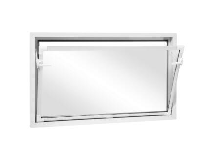 Fenêtre battante 100x80 cm PVC